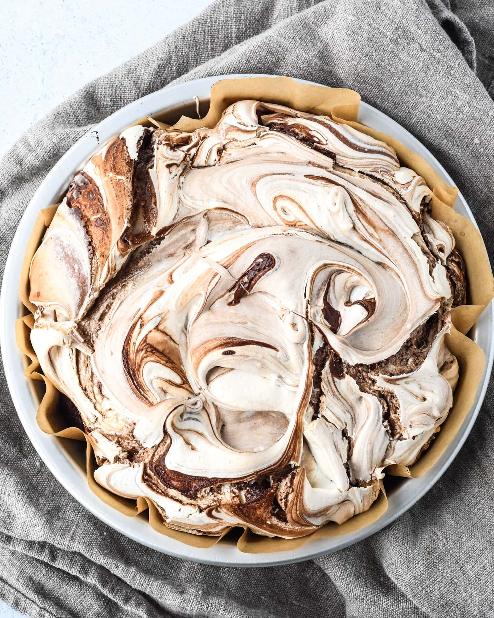 Flourless Chocolate Meringue Cake Buttermilk By Sam